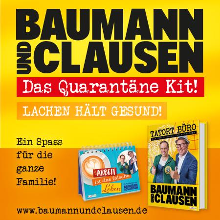 Baumann und Clausen Das Quarantäne Kit