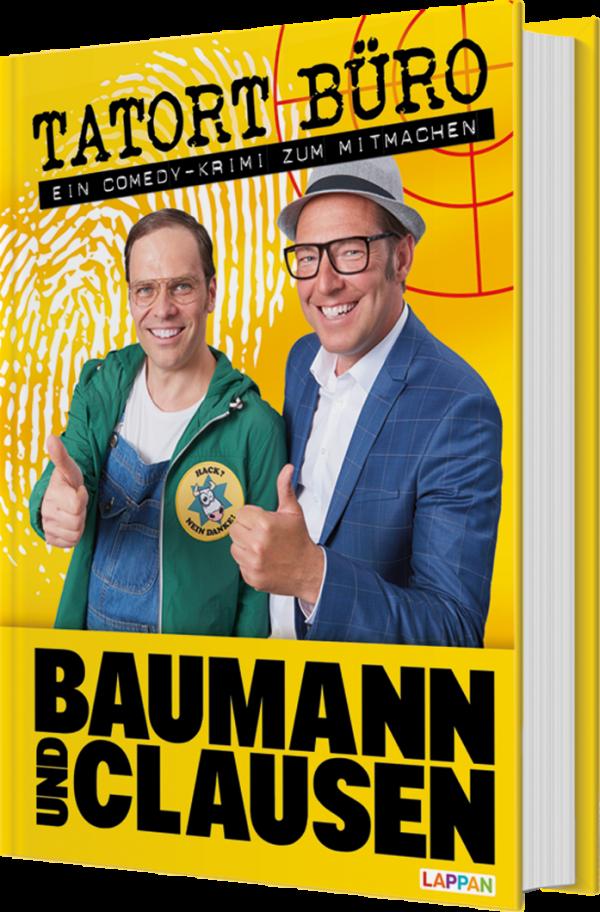 Tatort Büro Comedykrimi von Baumann und Clausen