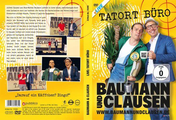 Tatort Büro DVD Cover